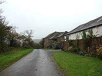 Farm buildings near Hollacombe - geograph.org.uk - 598439.jpg