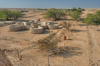 Abandoned village in Ash Shamal, Qatar