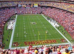 FedExField, which Raljon was centered around