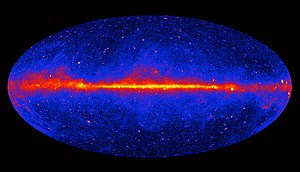 Gamma-ray astronomy - First survey of the sky at energies above 1 GeV, collected by the Fermi Gamma-ray Space Telescope in three years of observation (2009 to 2011)