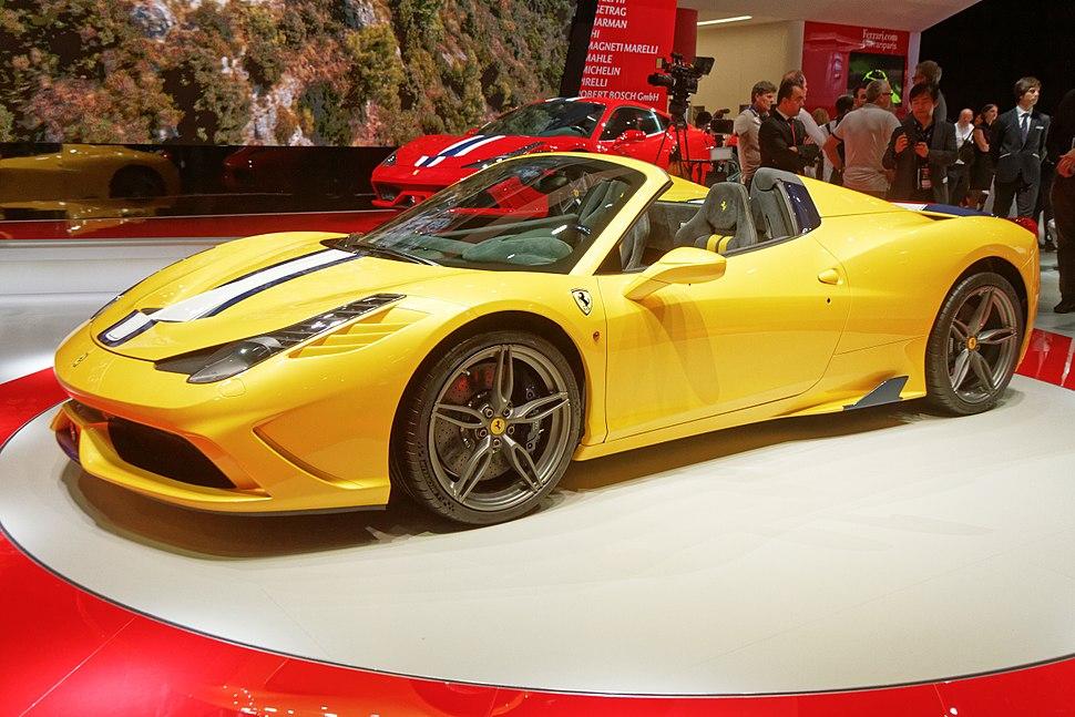 Ferrari 458 Speciale A - Mondial de l'Automobile de Paris 2014 - 037