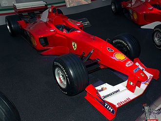 Ferrari F1-2000 - Ferrari F1-2000 in Ferrari Museum Maranello
