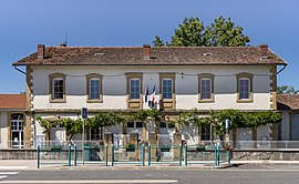 The town hall in Figarol