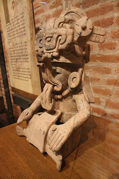 Figurilla de barro de la cultura Zapoteca