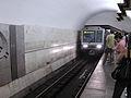First 81-717.6 714.6 train at Ploshchad Ilyicha station (Первый метропоезд 81-717.6 717.6 на станции Площадь Ильича) (4923950104).jpg