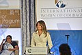 First Lady Melania Trump Delivers Remarks at the 2017 International Women of Courage Award Ceremony (33338548320).jpg