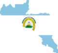 Flag map of united Central America.png