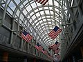 Flags in O'Hare hall 02.jpg