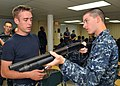 Flickr - Official U.S. Navy Imagery - A Sailor gives shotgun familiarization training..jpg