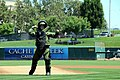 Flickr - Official U.S. Navy Imagery - Lt. j.g. Daniel Glenn throws out the first pitch..jpg