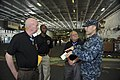 Flickr - Official U.S. Navy Imagery - Medal of Honor recipients former U.S. Army Staff Sergeant Don Jenkins, left, and retired U.S. Army Sergeant Major Kenneth Stumpf tour the Japan-based aircraft carrier USS George Washington.jpg