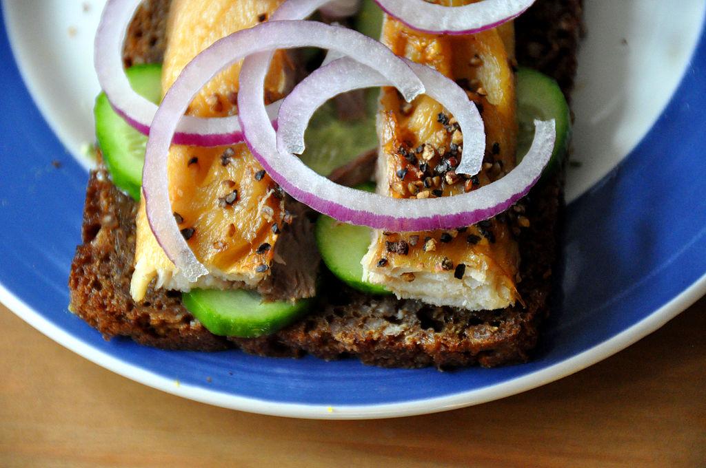 Smørrebrød, le sandwich danois - Photo de Cyclonebill