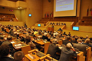 "Seimas Palace - Image: Flickr europeanpeoplesparty CES Seminar 'Baltic Freedom, The Next 20 Years"" (30)"
