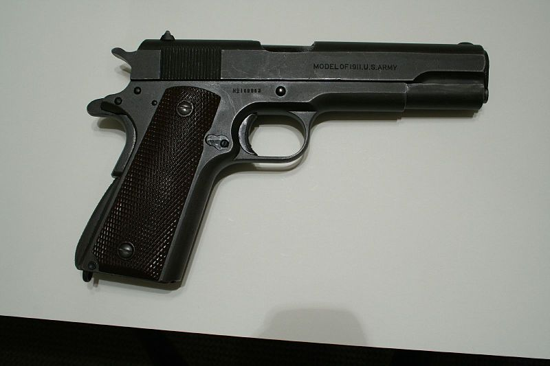 File:Flickr - ~Steve Z~ - Colt 1911 made in 1917.jpg