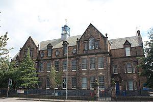 Comely Bank - Flora Stevenson School, Comely Bank Edinburgh by John Alexander Carfrae