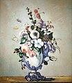 Flowers in a Rococo Vase by Paul Cézanne (4991623655).jpg