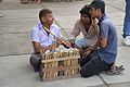 Flute Vendor Demonstrates - Sukhna Lake Area - Chandigarh 2016-08-07 9034.JPG