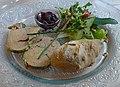 Foie gras du Quercy au restaurant Le Vieux Four Les Quatre-Routes-du-Lot.jpg