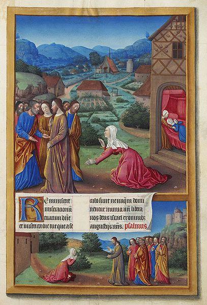 File:Folio 164r - The Canaanite Woman.jpg