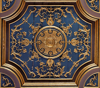 Ceiling Panel In The Hall Of Saint Louis, Built By Louis XV (18th Century)