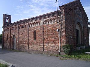 Fontanetto Po - Oratory of St. Sebastian