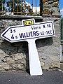 Fontenay-en-Parisis (95), Fontenay-en-Parisis (95), vieille plaque Michelin, route de Mareil.jpg