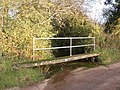 Footbridge, at the ford, South Brook - geograph.org.uk - 1589932.jpg