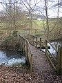 Footbridge in Leeds Castle Grounds - geograph.org.uk - 1195949.jpg