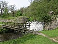 Footbridge near Hebden Fish Farm - geograph.org.uk - 745954.jpg