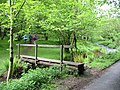 Footbridge over East Water Cloutsham Somerset - geograph.org.uk - 177683.jpg