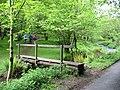 Footbridge over East Water Cloutsham Somerset - geograph.org.uk - 177683.jpg