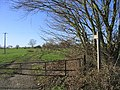 Footpath and gate - geograph.org.uk - 119214.jpg