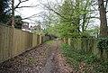 Footpath off Warwick Park (2) - geograph.org.uk - 1271944.jpg