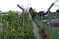Footpath towards the railway, Budbrooke industrial estate - geograph.org.uk - 1403557.jpg