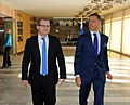 Foreign Minister Urmas Paet met Finnish Minister of European Affairs and Foreign Trade Alexander Stubb in Tallinn. 2nd March 2012 (6799970600).jpg