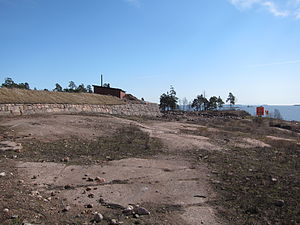 Ruotsinsalmi sea fortress - Ruins of Fort Katarina