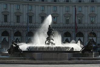 Naiad - Fountain of the Naiads, Piazza della Repubblica, Rome, Italy