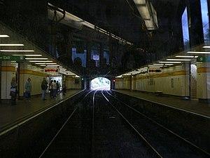 Four Lane Ends Interchange - Four Lane Ends Metro station