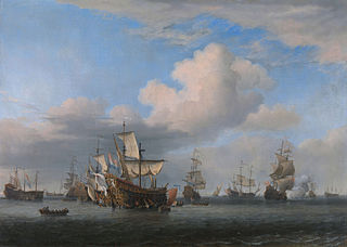 Captured English Ships after the Four Days' Battle