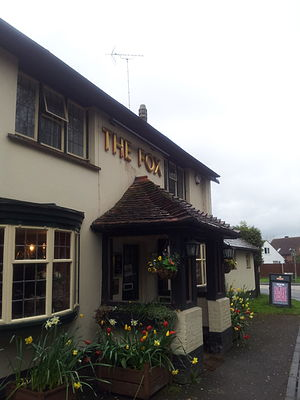 Oakley, Hampshire - Image: Fox Pub At Oakley