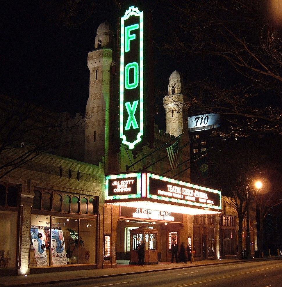 Fox Theater night
