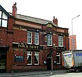 Fox and Newt - Burley Street - geograph.org.uk - 463303.jpg