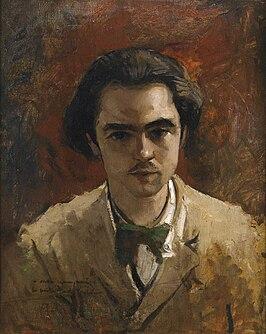 Paul Verlaine, Portret van Gustave Courbet