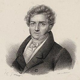 François Adrien Boieldieu, naar een schilderij van Henri-François Riesener, Bibliothèque nationale de France