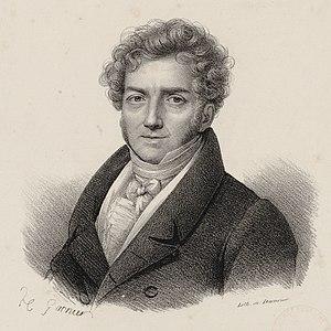 La dame blanche - The composer c. 1815