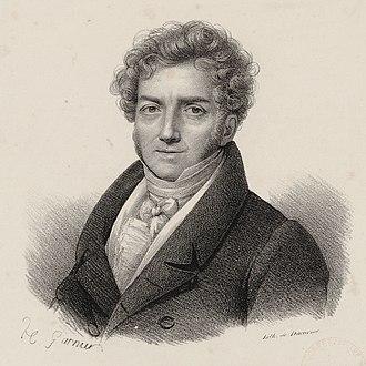 François-Adrien Boieldieu - François-Adrien Boieldieu, etching after Henri-François Riesener, Bibliothèque nationale de France.