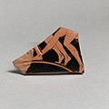 Fragment of a terracotta kylix (drinking cup) MET DP21789.jpg