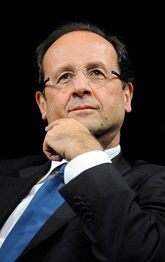 French presidential election, 2012 - François Hollande