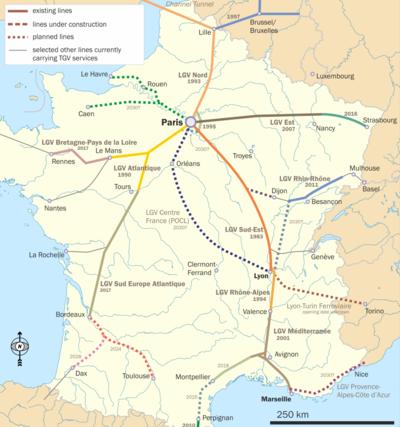 Transportation Deployment CasebookTGV Wikibooks open books for