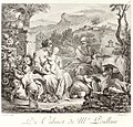 Francesco Solimena - Rest on the Flight into Egypt engraved by Delaunay codecent00poul 0211.jpg